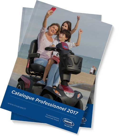 Catalogue professionel 2017 d'Invacare
